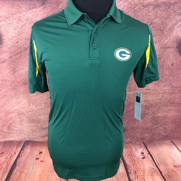 NFL Green Bay Packers TX3 Cool Polo Shirt S 052e08308